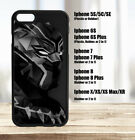 Black Panther Marvel Iphone Case 5C 5S 6 7 8 Plus, X XS XS Max XR