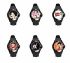 Betty BoOp Black White Pink So many Colors Soft Plastic Rubber Wrist Watch $33.01 CAD on eBay