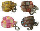 Dog Leash for Small to Medium Breeds 5 ft x 5/8 in - 4 Designs