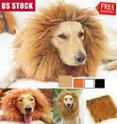 Pet Cosplay Clothes Transfiguration Costume Lion- Mane Winter Wig Cat large Dog