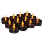 12pcs Flickering Flameless LED Tea Lights Wedding Christmas Party Candle Lights
