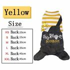 HOOPET® Pet Clothes Warm Striped Jumpsuit Four Feet Outfit for Small Dogs