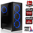 Ultra Fast Amd Dual Core Radeon Hd 8gb Ddr4 1tb Gaming Pc Computer Raider Blue