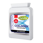 Marine Collagen 400mg Healthy Skin Anti Ageing Tablets Capsules UK Purvitz