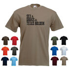 'Sex & Drugs & Texas Holdem' Funny Men's Playing Cards Custom T-shirt Tee