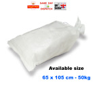 25x > 65 x 105 cmWOVEN LARGE HEAVY DUTY RUBBLE SAND BAG SACKS POLYPROPYLENE FAST