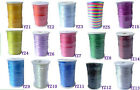 Satin Rattail Cord 2MM 100 Yards Jewelry Beading Thread Making Multiple Color