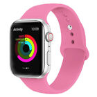 Apple Watch Sports Silicone Band Strap iWatch Series 5/4/3/2/1, 44/42/40/38mm