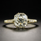 925 Silver Yellow Gold Plate Wedding Engagement Fashion Ring Wholesale Sz 6-10