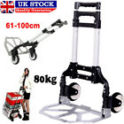 Max 80Kg Heavy Duty Expandable Foldable Truck Hand Sack Trolley Barrow Cart UK