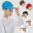 Cook Adjustable Men Women Kitchen Baker Chef Elastic Cap Hat Catering 3 Colors