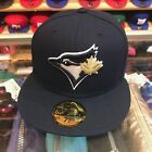 New Era Toronto Blue Jays Fitted Hat All (NAVY)/Gold Leaf on Ebay