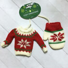 Внешний вид - Christmas Sweater Ornament Holiday Winter Ski Santa Ugly