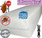 Venice® Superior Heavy 8 Gauge Vinyl Zippered Mattress Cover Water Bed-Bug Proof image