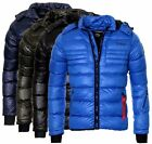 Geographical Norway Herren Winter Jacke Steppjacke Bomberjacke parka Daunen Look