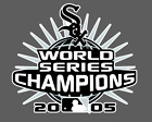 Chicago White Sox  2005 World Series Champions Die-Cut Vinyl Decal on Ebay