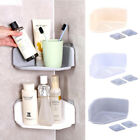 Внешний вид - Plastic Suction Cup Kitchen Bathroom Corner Storage Rack Organizer Shower Shelf