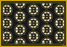 Boston Bruins Milliken NHL Team Repeat Area Rug Man Cave $109.0 USD on eBay