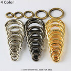 Wholesale Round Carabiner Camping Push Gate Snap Open Hook Spring Ring 4 Color