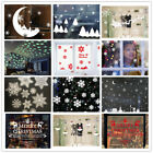 Merry Christmas Wall Art Removable Home Window Snowflake Stickers Decal Decor
