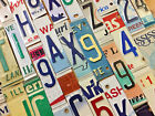 Raised/Embossed License Plate Letters and Numbers for Signs and Arts and Crafts