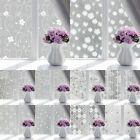 Static Cling Frosted Opaque Glass Window Film Glass Cover Privacy Home Decor