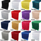 10×Satin Table Runner Runner Chair Swag Wedding Party Banquet Table Topper Decor