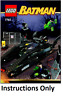 NEW INSTRUCTIONS ONLY LEGO BAT-TANK RIDDLER & BANE'S HIDEOUT 7787 book from set