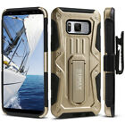 Samsung Galaxy S8+ Case, Dual Layer Case with Kickstand & Holster (S8 Plus G955)