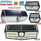 Mpow Outdoor LED Solar Powered Light Motion Sensor Security Wall Lights 3 Modes