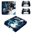 Final Fantasy Skin For Playtation 4 PS4 Slim Console Controller Skin Stickers