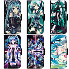 PIN-1 Anime Vocaloid Collection Phone Wallet Flip Case Cover for Samsung