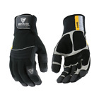 The Yeti� Insulated Gloves Waterproof Winter Insulated Work Gloves PVC Grip
