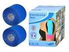 2 x Rollen Kinesiologie Tape ALLE FARBEN Tapes Klebeband Sporttape Tapeverband