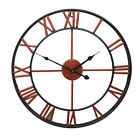 16 23 Oversized 3D Iron Wall Clock Decorative Retro Large Gear Hollow Clock