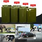 4x 30L Motorcycle Spare Portable Fuel Tank Jerry Cans Car Petrol Oil Container