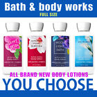 Brand NEW Bath and body works body lotion 8oz 236ml you choose