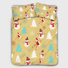 Christmas Point Bedding Cover Bedspread Sheet Comforter Set Twin Queen King Kids
