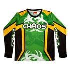 Chaos Kids Off Road Motocross Shirt Green