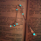 1pc Vintage Luminous Butterfly Bookmark Metal Book Mark Label Accessories