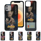 Avengers Infinity War Card Bumper Cover Galaxy S10 iPhone XS Max XR 8 Plus Case