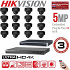 HIKVISION 5MP CCTV NVR IP SYSTEM 4K 4/8/16 CHANNEL HD HOME NETWORK SECURITY KIT