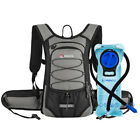 MIRACOL 15L Hydration Backpack Pack with 2L Water Bladder Bag Hiking Gear Nylon