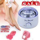Spa Hair Removal Hot Paraffin Wax Warmer Heater Pot Machine + Waxing Beans Sale