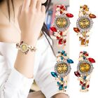 Luxury Glitter Women Stainless-steel Military Analog Quartz Bracelet Wrist Watch image