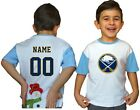Buffalo Sabres Kids Tee Shirt NHL Personalized Hockey Youth Unisex Jersey Gift $11.95 USD on eBay