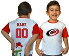 Carolina Hurricanes Kids Tee Shirt NHL Personalized Hockey Youth Unisex Jersey $11.95 USD on eBay