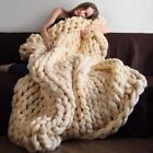 Handmade Super Soft & Warm Chunky Knit Blanket - Avail in 16 colors! image