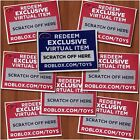 Roblox Exclusive Virtual Toys CODES ONLY Series 1 2 3 4 Figures-USPS SHIPPING