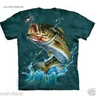 Bass Fishing T-Shirt/Fish,Bass,Fishing,Pacific NW,Largemouth Bass Art Tshirt